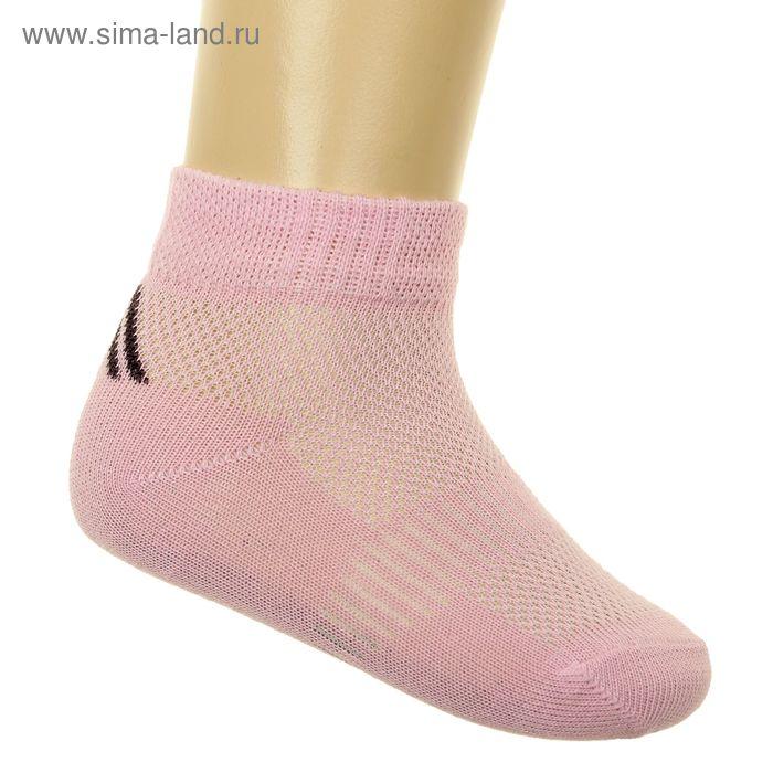 Носки детские арт.6В431, цвет розовый, р-р 16 (разм.обуви 22-24)