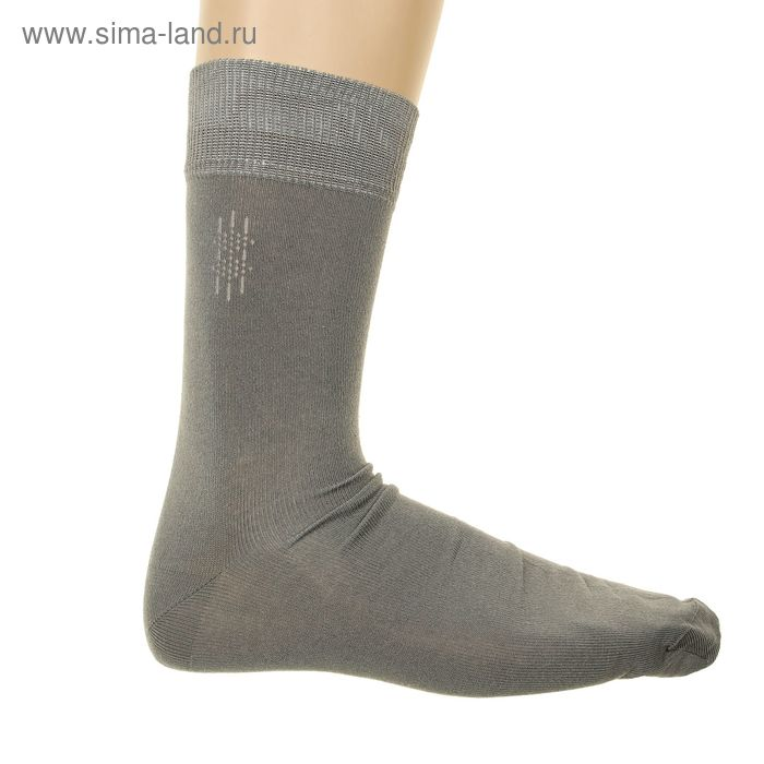 Носки мужские арт.4В258, цвет серый, р-р 29-31 (разм.обуви 44-46)