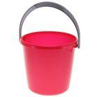 Ведро «Соло», 3 л, цвет красный перламутр