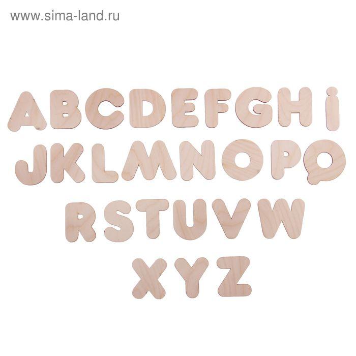 Набор из английского алфавита для творчества и развития, в пакете