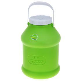 Бидон 8 л 'Просперо', цвет зеленый Ош