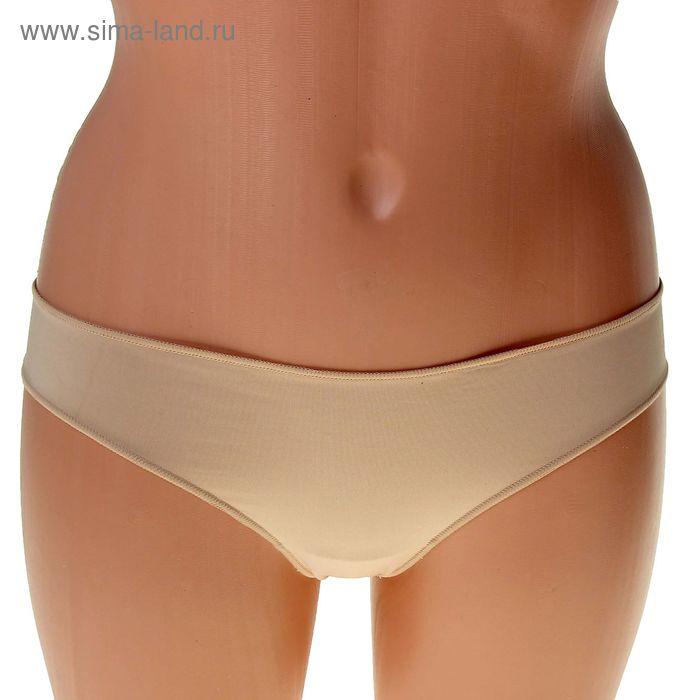 Трусы женские бразилиана ICD37258 Basic microfiber beige, р-р 42 (2)