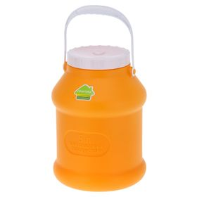 Бидон 5 л 'Просперо', цвет оранжевый Ош