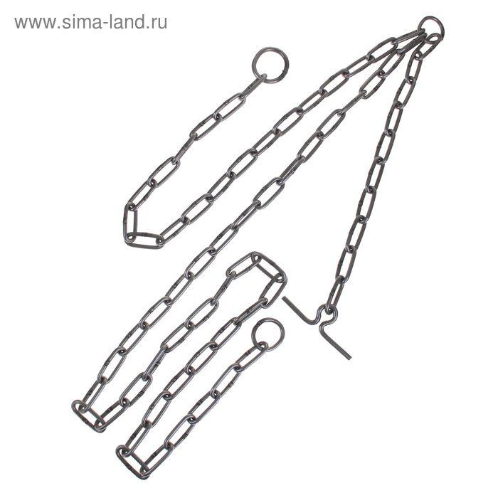 Цепь для выгона КРС трехконцевая, калибр 5 х 36 мм