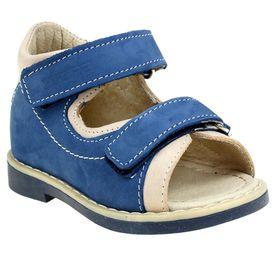 Туфли открытые малодетские Зебра, арт. 10468-5 (синий) (р. 21)