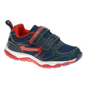 Кроссовки детские STROBBS, цвет красный, размер 26 (арт. S1424-2)