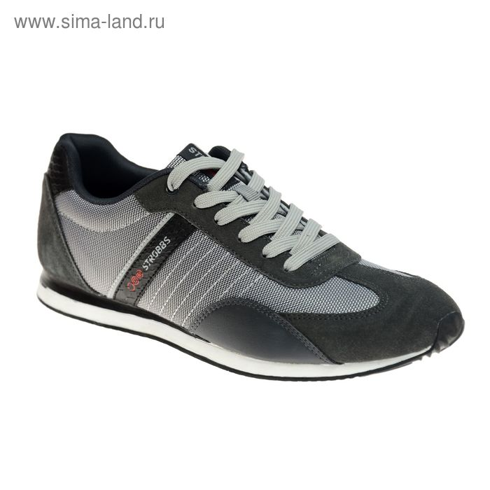 Кроссовки мужские STROBBS, цвет серый, размер 45 (арт. C2331-4)
