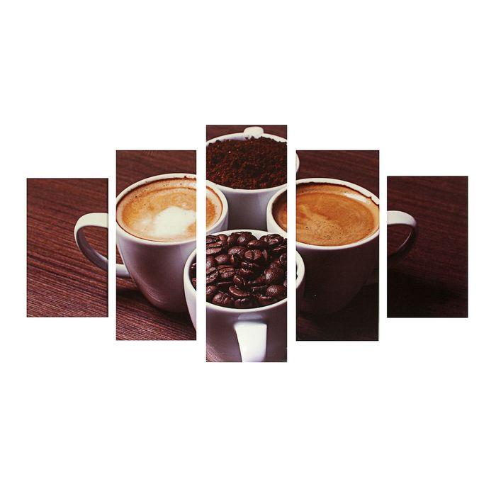 """Модульная картина на подрамнике """"Кофе"""""""