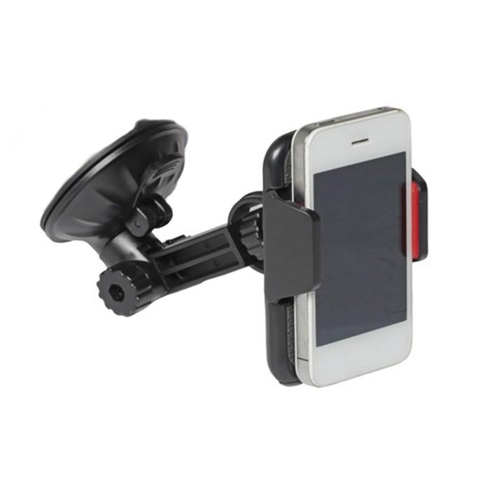 Держатель телефона, короткая штанга, 58-90 мм, на лобовое стекло