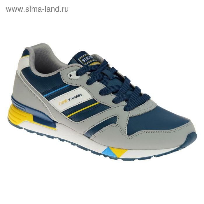 Кроссовки мужские STROBBS, цвет синий, размер 44 (арт. C2300-7)