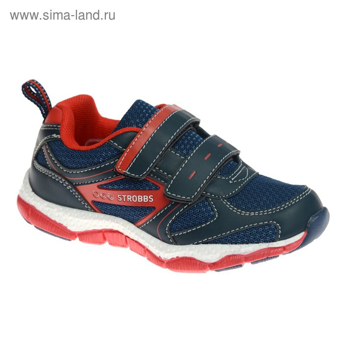 Кроссовки детские STROBBS, цвет красный, размер 29 (арт. S1424-2)