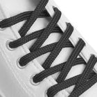 Шнурки для обуви круглые, d=6мм, 70см, цвет тёмно-серый