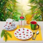 Набор столовых приборов «Детский», 3 предмета, толщина 2 мм - фото 70653