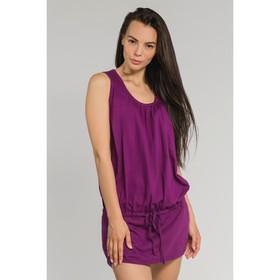 Туника женская, цвет фиолетовый, размер 44 (арт. М-427-09)