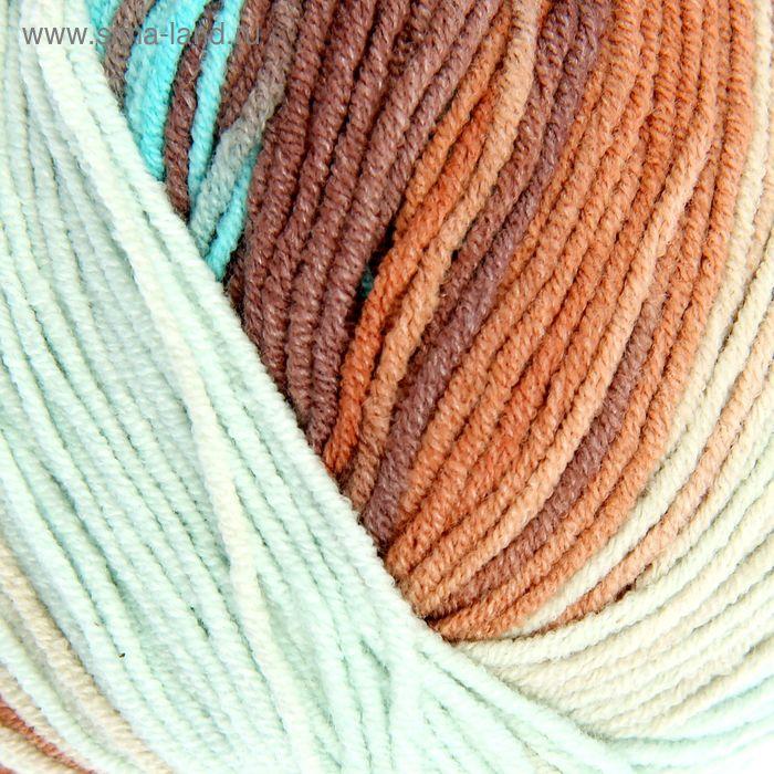 """Пряжа """"Cotton Gold Batik"""" 55% хлопок, 45% акрил, 330м/100гр (4603)"""