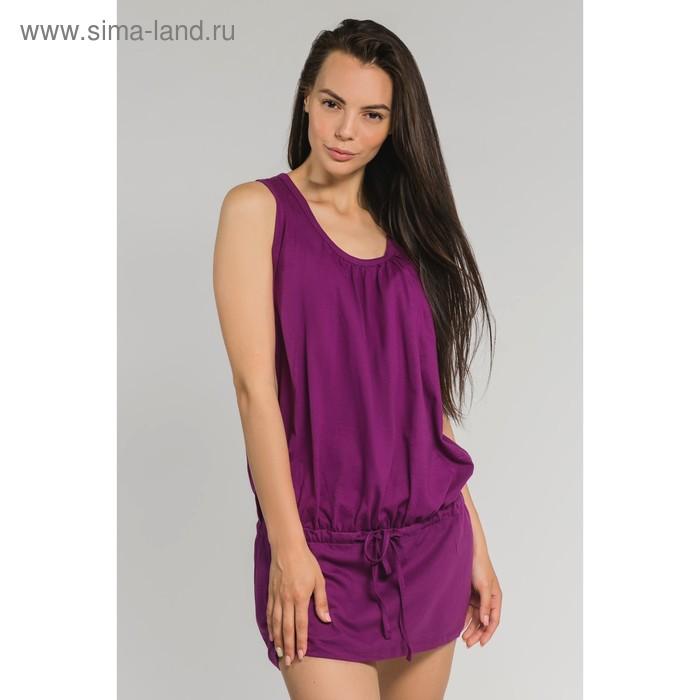 Туника женская, цвет фиолетовый, размер 48 (арт. М-427-09)