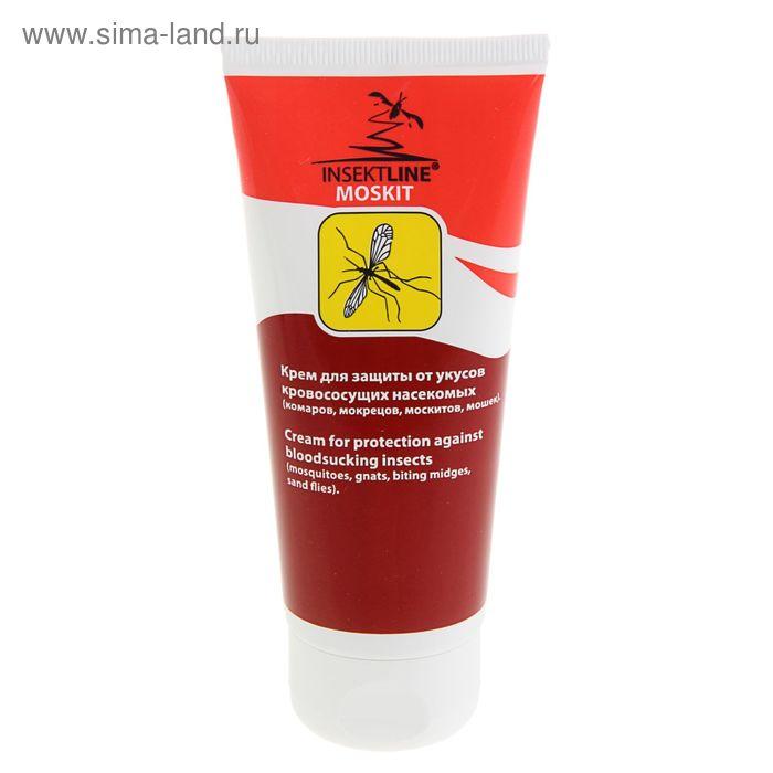 Крем для защиты от укусов кровососущих насекомых Insektline Moskit, тюбик, 100 мл