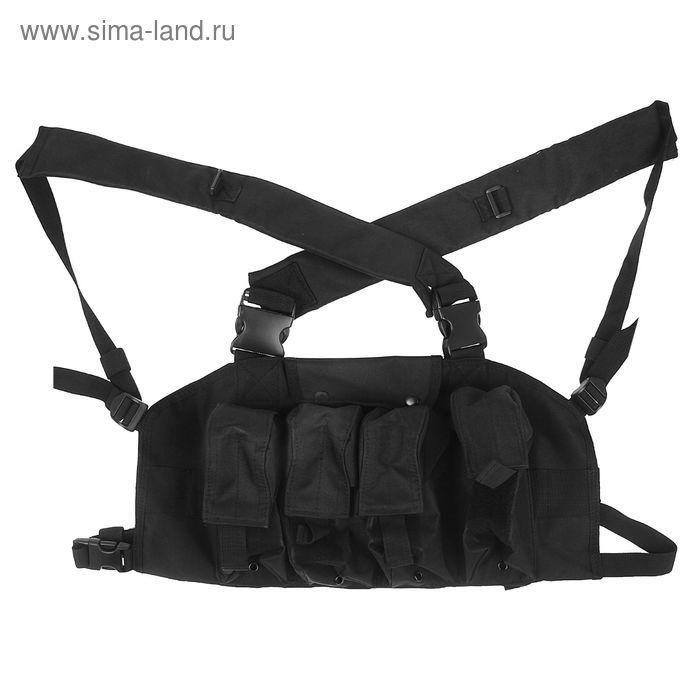 Жилет разгрузочный KINGRIN Tactical vest (Black) VE-14-BK