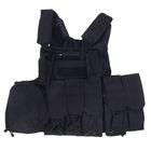 Жилет разгрузочный KINGRIN CIRAS vest (Black) VE-01-BK