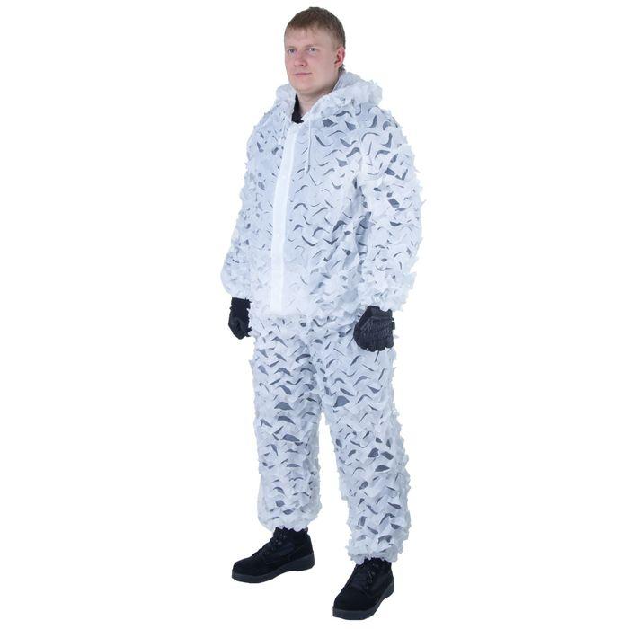 Костюм для страйкбола Leaflike Camouflage Uniform Snow UN-12-SN