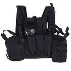 Жилет разгрузочный KINGRIN Tactical vest with accessory (Black) VE-17-BK