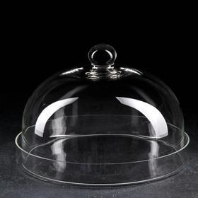 Поднос с крышкой (тортовница) НЕМАН, d=30 см