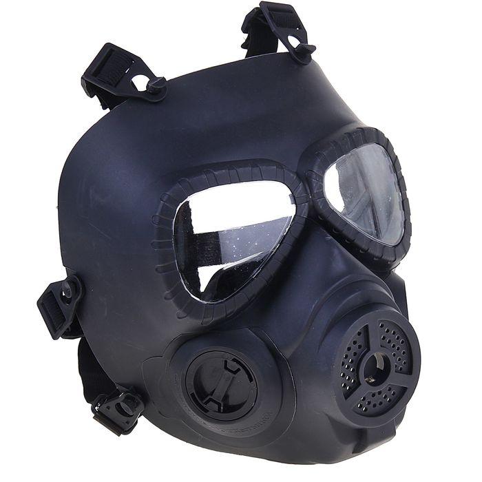 Маска для страйкбола KINGRIN V4 avengers cosplay toxic Gas M04 mask w/ Fan (Black) MA-27-BK   134755