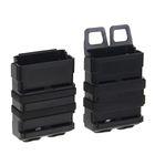 Подсумок Fast Mag accessory box of vest (M SIZE) Black MG-02-BK