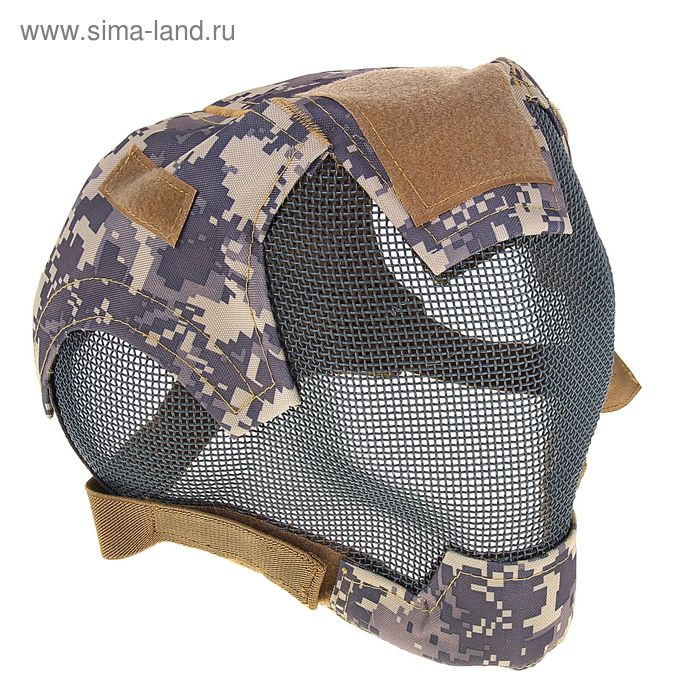 Маска для страйкбола KINGRIN V6 strike steel ultimate edition mask (ACU) MA-19-ACU