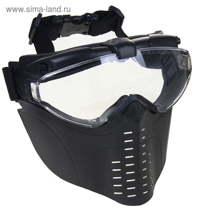 Маска для страйкбола KINGRIN MARUI mask (Black) MA-24-BK