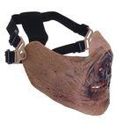 Маска для страйкбола KINGRIN M05 skull mask (Zombie II) MA-67-JS
