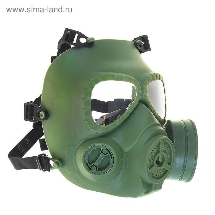 Маска для страйкбола KINGRIN V4 avengers cosplay toxic Gas M04 mask w/ Fan (OD) MA-27-OD