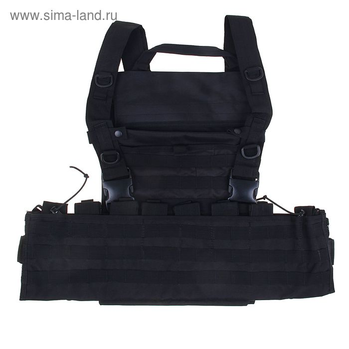 Жилет разгрузочный KINGRIN Tactical vest (Black) VE-11-BK