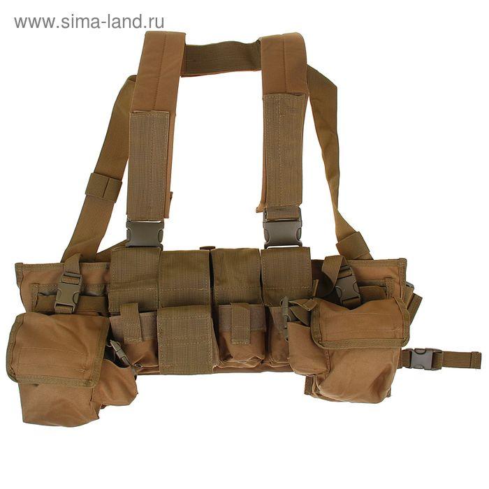 Жилет разгрузочный KINGRIN Tactical vest (Tan) VE-16-T