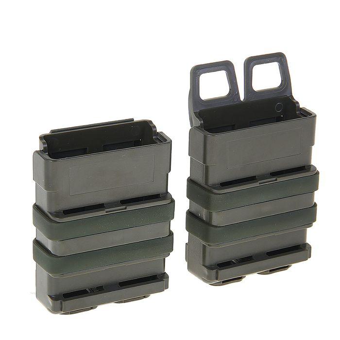 Подсумок Fast Mag accessory box of vest (M SIZE) OD MG-02-OD