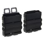 Подсумок Fast Mag accessory box of vest (L SIZE) Black MG-01-BK