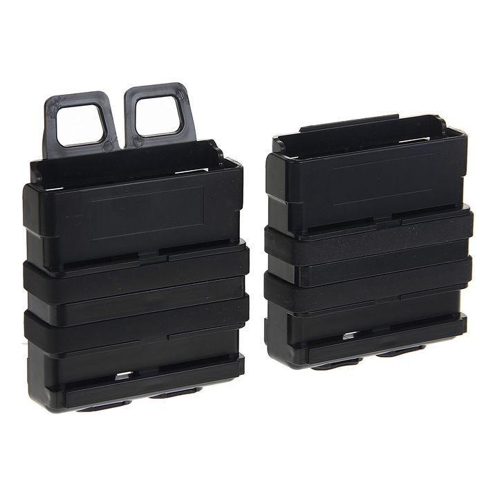 Подсумок Fast Mag accessory box of vest (L SIZE) Black MG-01-BK