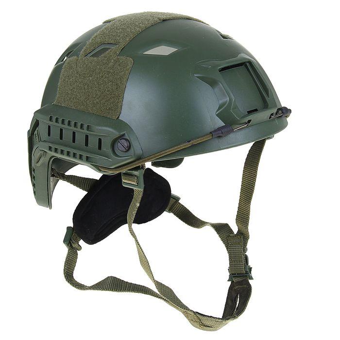 Шлем для страйкбола KINGRIN FAST helmet BJ version (OD) HL-07-BJ-OD