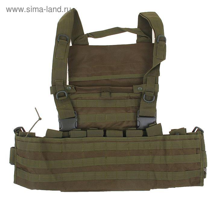 Жилет разгрузочный KINGRIN Tactical vest (OD) VE-11-OD