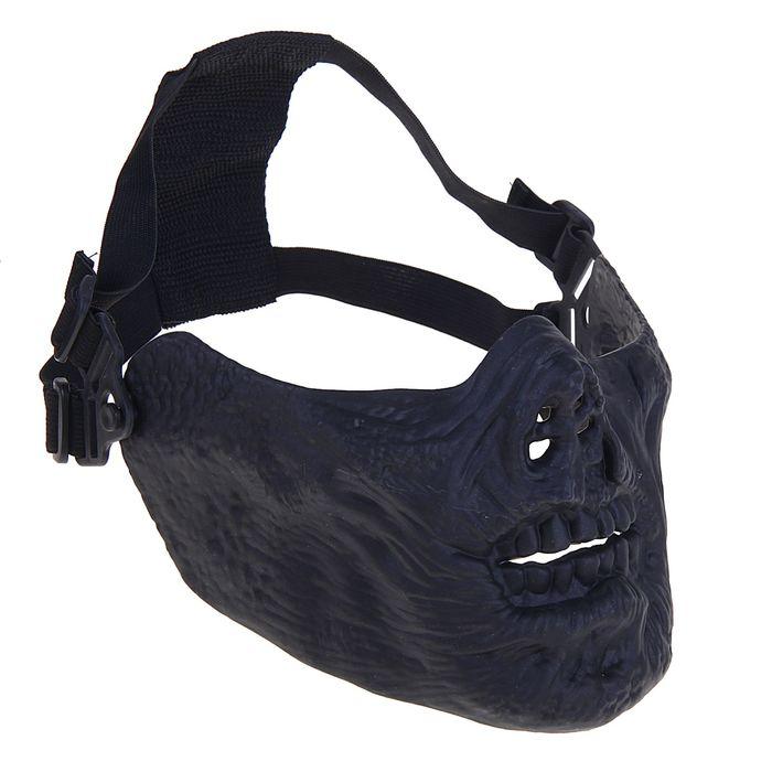 Маска для страйкбола KINGRIN M05 skull mask (Black) MA-67-BK