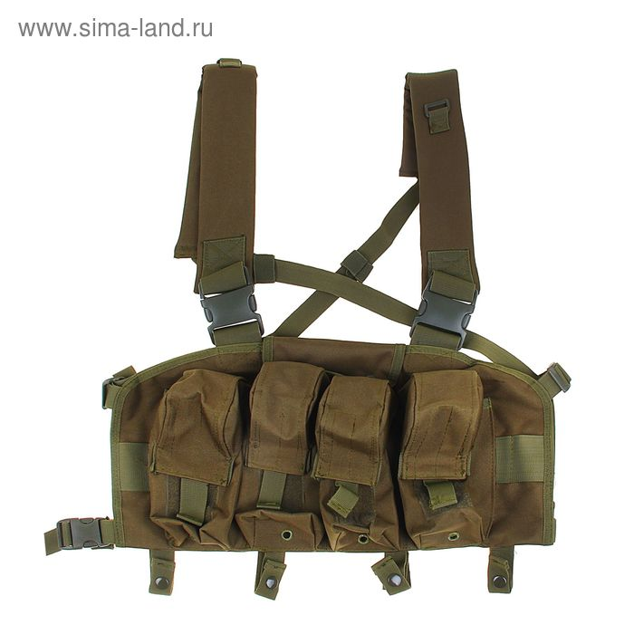 Жилет разгрузочный KINGRIN Tactical vest (OD) VE-14-OD
