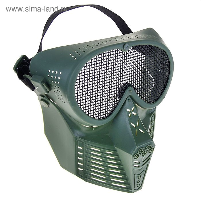 Маска для страйкбола KINGRIN Simple Tactical transformers mask-Steel mesh (OD) MA-18-OD