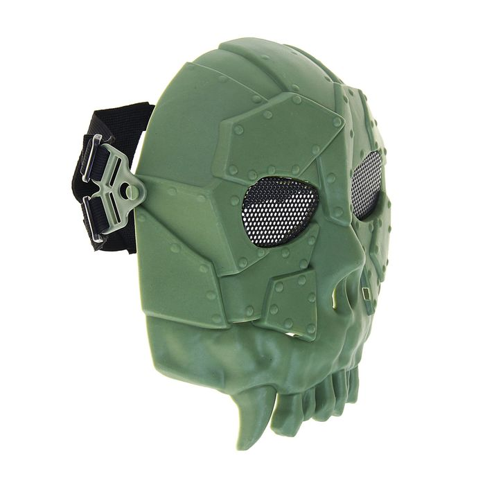 Маска для страйкбола KINGRIN Desert army group mask V1-Round mesh (OD) MA-52-OD