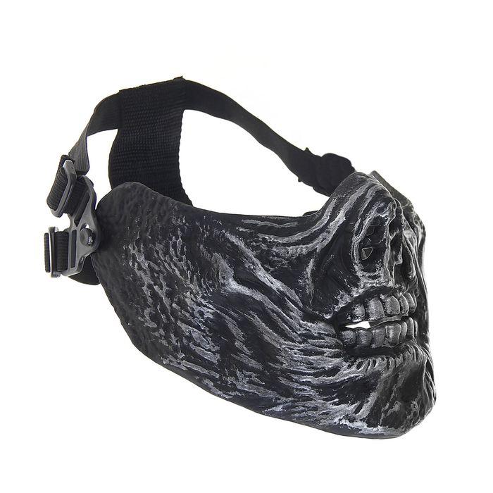 Маска для страйкбола KINGRIN M05 skull mask (Sliver) MA-67-YH