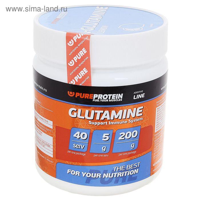 Глютамин 200г Лимон