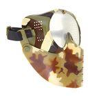 Маска для страйкбола KINGRIN Small flying mask with nylon goggle (IT) MA-63-IT