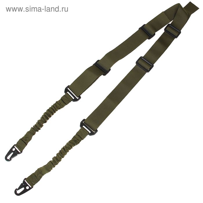 Ремень оружейный KINGRIN two point sling (OD) SL-08-OD