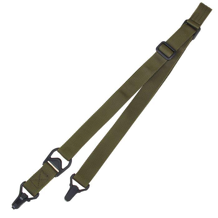 Ремень оружейный KINGRIN MS3 sling-without logo (OD) SL-02-OD