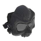 Маска для страйкбола KINGRIN Desert army group mask V5-Round mesh (Black) MA-56-BK