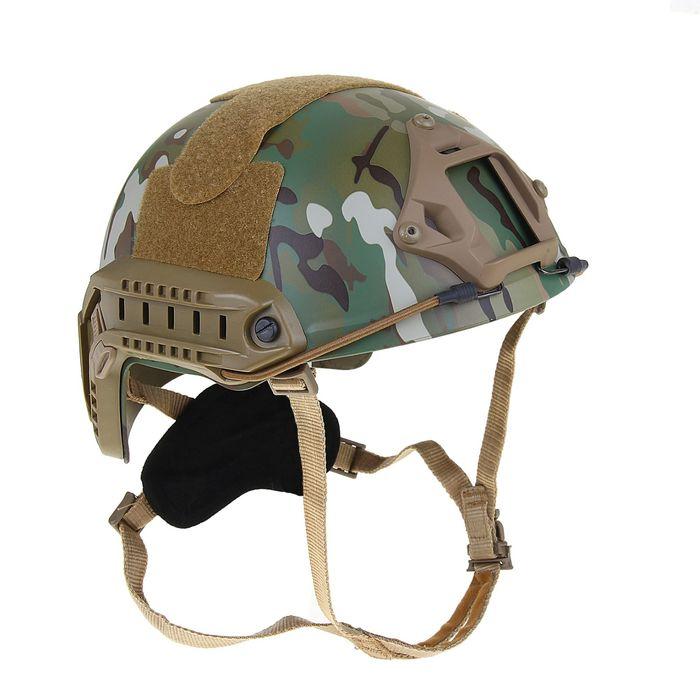 Шлем для страйкбола KINGRIN FAST helmet MH version  low version(Multicam) HL-08-MH-CP